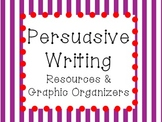 Persuasive Writing Resources and Graphic Organizers