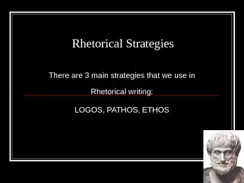 Persuasive Writing Rhetoric Presentation