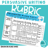 Persuasive Writing Rubric