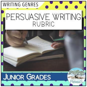 Persuasive Writing Rubric / Success Criteria / Assessment