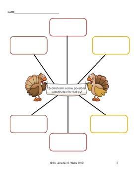 Persuasive Writing: Save Tater the Turkey!