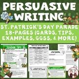Persuasive Writing St. Patrick's Day Parade