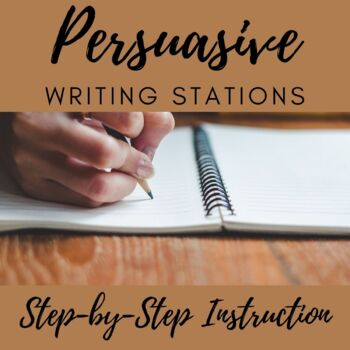 Persuasive Writing Stations
