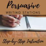 Persuasive Writing Stations