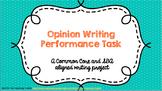 Persuasive Writing Task