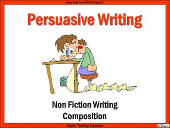 Persuasive Writing Teaching Resources