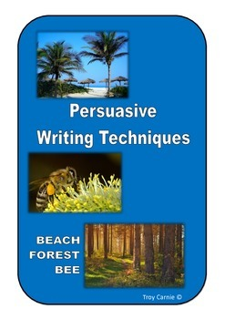 Persuasive Writing Techniques Posters