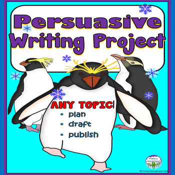 Persuasive Writing Template for ANY Topic Penguin Theme