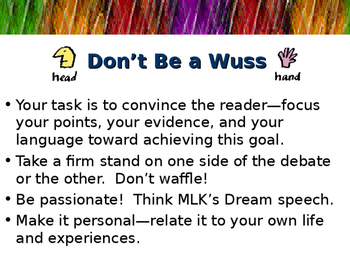 Persuasive Writing Tips and Techniques