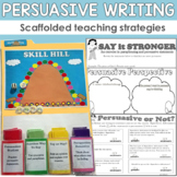 Persuasive Writing Tools and Strategies