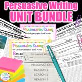 Persuasive Writing Unit BUNDLE l 15 Days