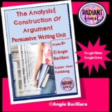 Persuasive Writing Unit Grades 8 to 10 GOOGLE SLIDES Drive
