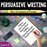 Persuasive Writing Unit Bundle: How-to Lessons on Process
