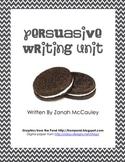 Persuasive Writing Unit Packet