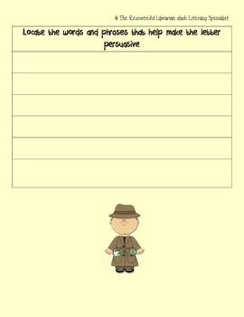 Persuasive Writing with ANY Picture book