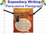 Persuasive Writing Unit: Writer's Workshop Version Smart Notebook CC Applicable