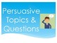 Persuasive Writing Unit (Writing Pages, Visuals and Rubric)