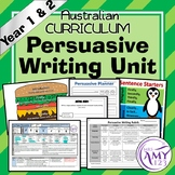 Persuasive Writing Unit- Year 1 & 2