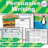 Persuasive Writing Unit- Year 1 & 2