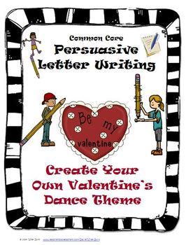 Valentine's Day Persuasive Writing