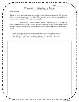 Persuasive Writing WEEK LONG PARAGRAPH WRITING LESSON WORKSHEETS!
