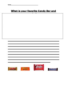 Persuasive Writing-Whats your favorite candybar?