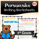 Persuasive Writing Worksheets