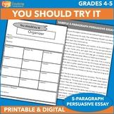 You Should Try It!   Five-Paragraph Persuasive Essay   Arg