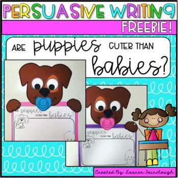 Persuasive Writing and Craft Freebie