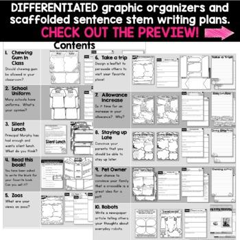 Persuasive Writing Activities