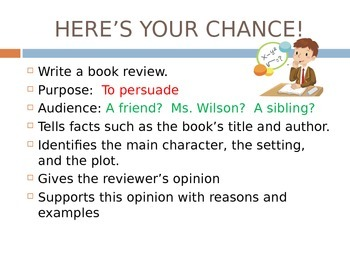 Persuasive Writing for ESL students