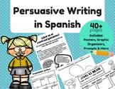 Persuasive Writing in Spanish (Escritura Persuasiva)