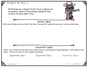 Persuasive Writing of the Week for Google Slides™