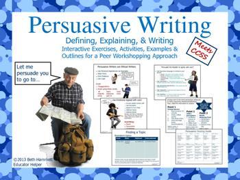 Persuasive Writing with Interactive Writing Activities