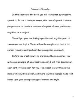 Persuasive and Informative Speeches