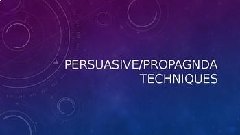 Persuasive and Propaganda Techniques