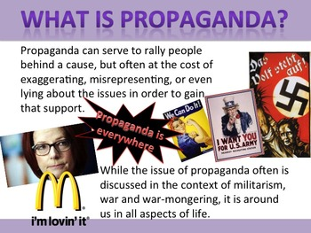 Persuasive and Propoganda PPT