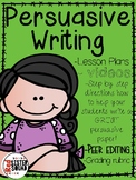 Persuasive/ opinion Writing for any topic!