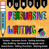 Persuasive writing Activities Bundle (12 Products + 1) and BONUS FILE!