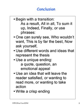 Persuasive writing in 5 Easy Chunks