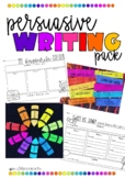 Persuasive writing pack