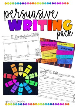 Persuasive writing pack