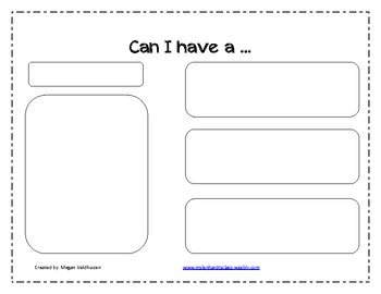 Persuasive writing sheet- Kindergarten or First