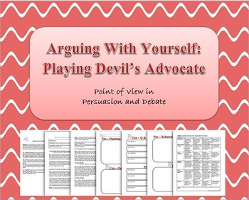 Persuasive/Debate Assignment - Playing Devil's Advocate