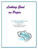 Persuasive Essays: 6-Step Prewriting Process—Great Preparation!