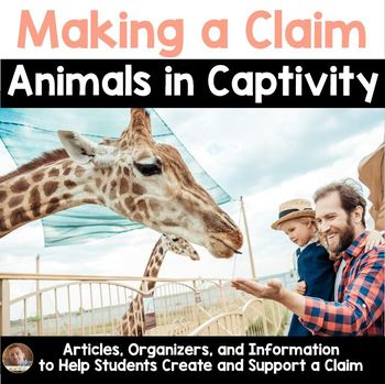 Persuasive/Opinion Writing Project: Animal Captivity (3rd-6th grades)