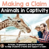 Persuasive/Opinion Writing Project: Animal Captivity (3rd-5th grades)
