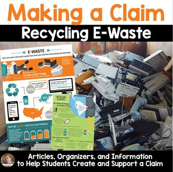 Earth Day Persuasive & Opinion Writing: Recycling E-Waste (Grades 3rd-6th)