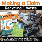 Opinion Writing Project for Grades 3-5: Recycling E-Waste