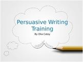 Persuation Writing Lesson Futuristic Theme